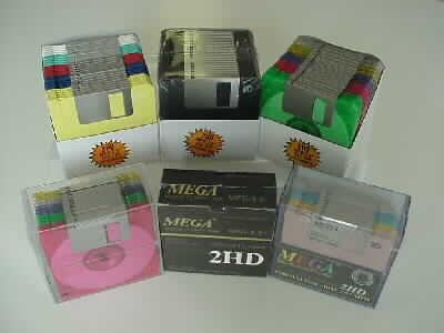 Blank Diskette and Accessories