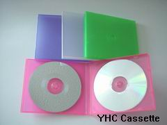 PP Plastic Slim CD Jewel Case (For Double CD)