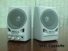 Active Multi-Media Speaker with Amplifier